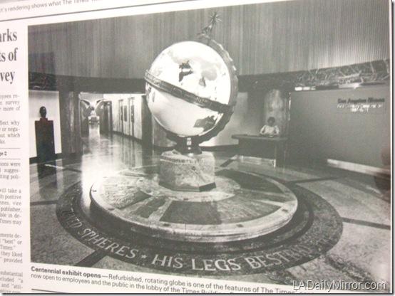 Globe Lobby, 1980s
