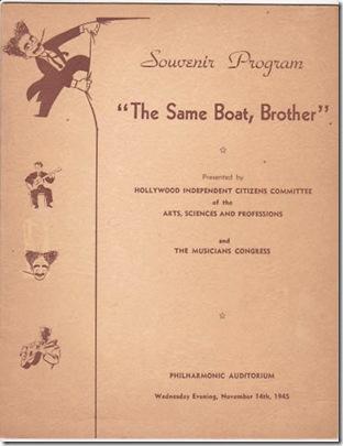 Groucho Same Boat, Ebay