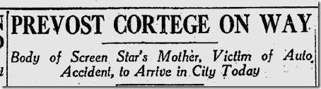Feb. 7, 1926, Prevost