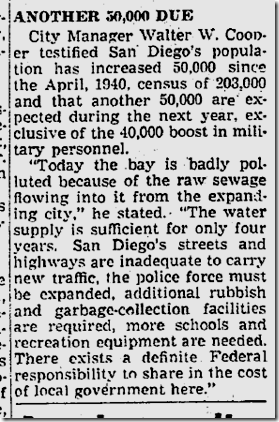 June 13, 1941, Immigration