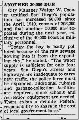 June 13, 1941, Immigration