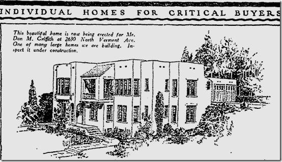 April 19, 1925, 2630 Vermont