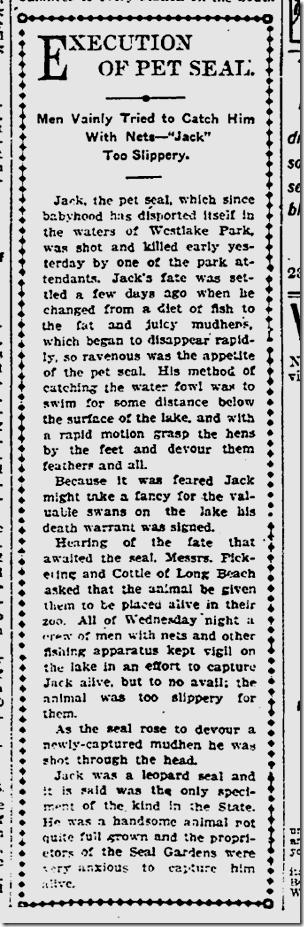 Nov. 14, 1904, Seals