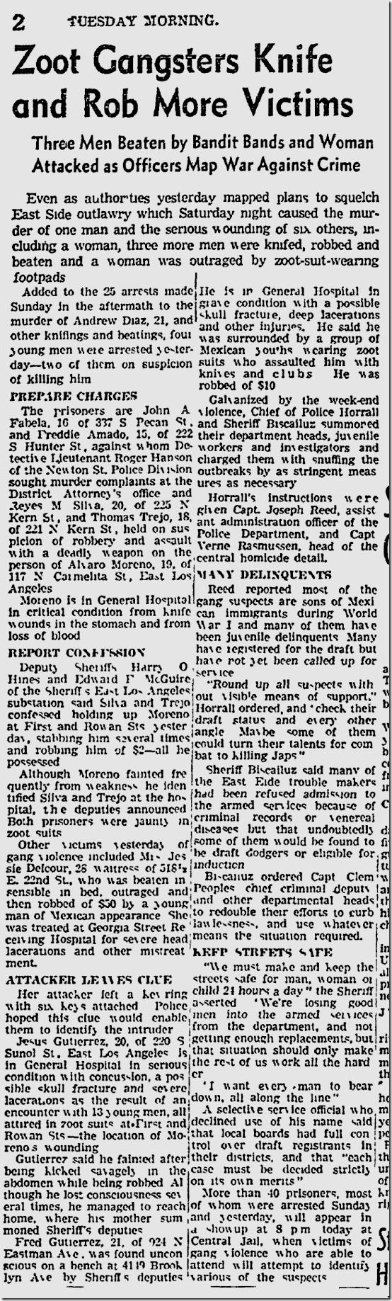 Oct. 6, 1942, Zoot Suit