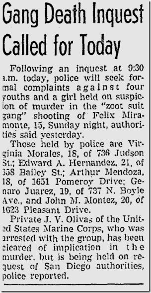 Nov. 24, 1942, Zoot Suits