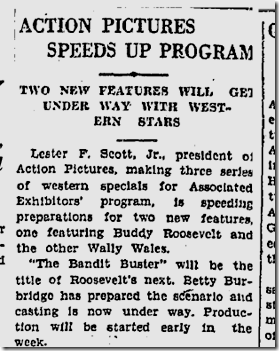 Oct. 4, 1926, Bandit Buster