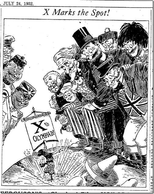 July 24, 1932, Olympics