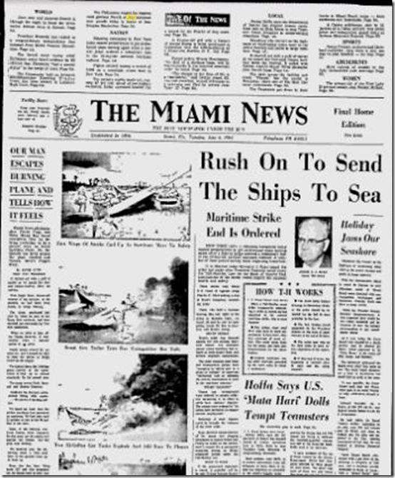 July 4, 1961, Miami News