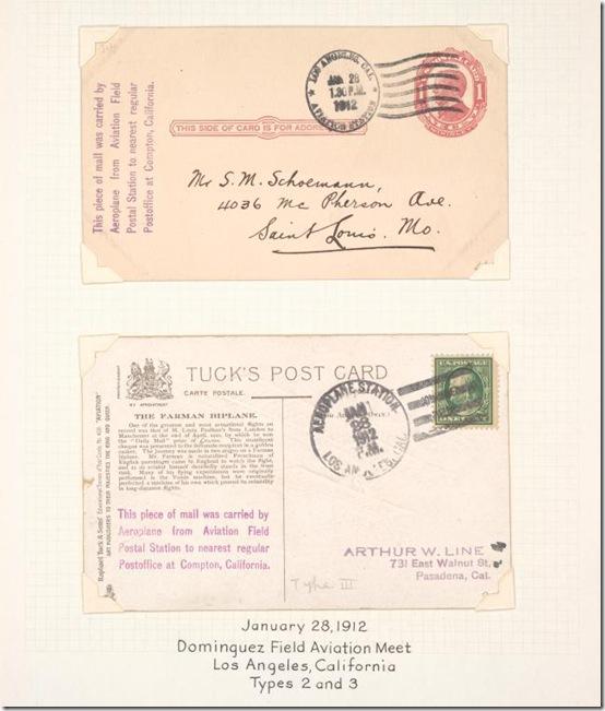 1912 Aviation Meet Stamp