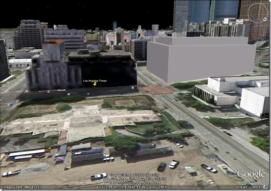 Broadway, Google Earth