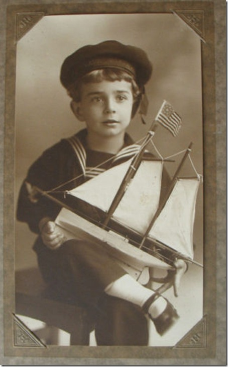 Child in Sailor Outfit, Hartsook Studio
