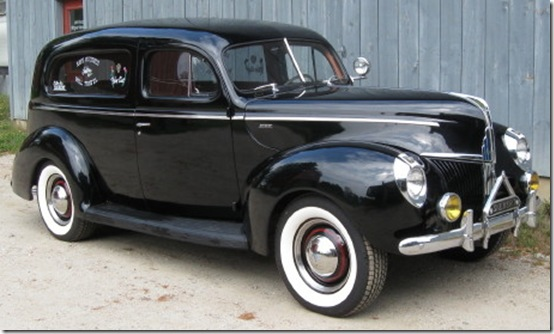Ford hearse