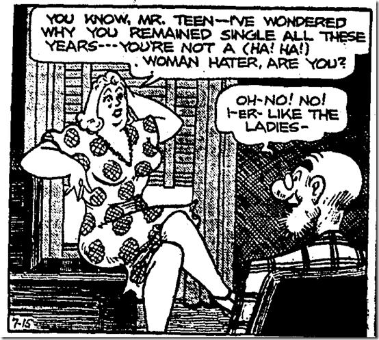 July 15, 1941, Comics