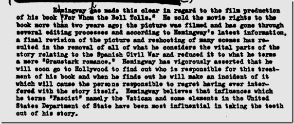 Hemingway FBI file, Page 48