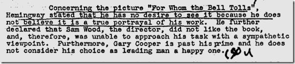 Hemingway FBI file, Page 81