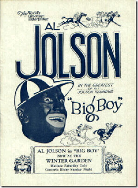 Big Boy, Al Jolson