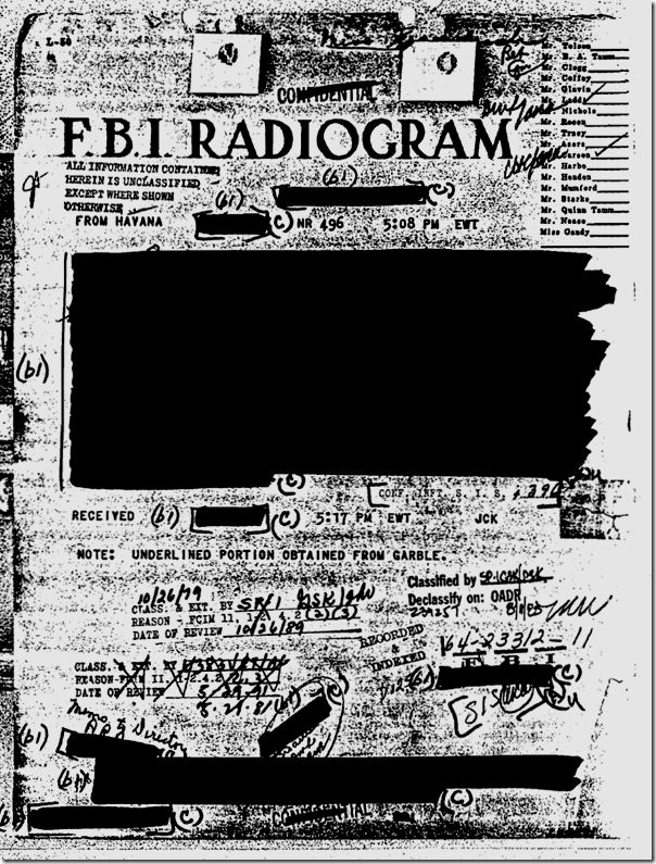 Hemingway FBI file, Page 83