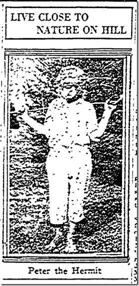 Peter the Hermit, Sept. 30, 1923