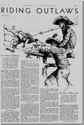 Feb. 21, 1932, Westerns