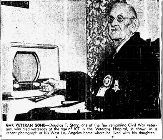 April 23, 1952, Douglas T. Story watches TV.