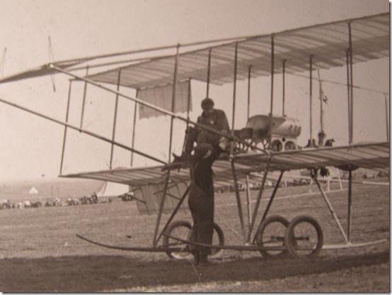 C.C. Pierce 1910 Aviation Meet Detail