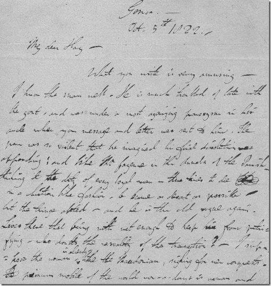Fake Byron Letter