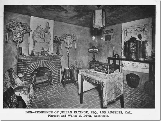 Julian Eltinge Home