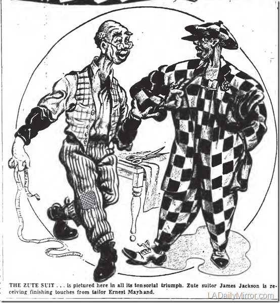 Aug. 21, 1941, Zute Suit