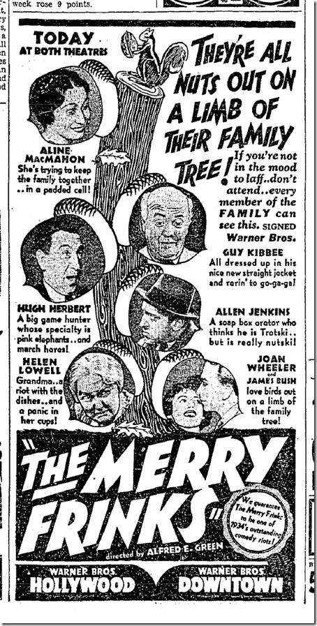 """The Merry Frinks,"" June 14, 1934"