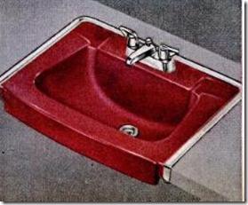 Crane Persian Red Sink