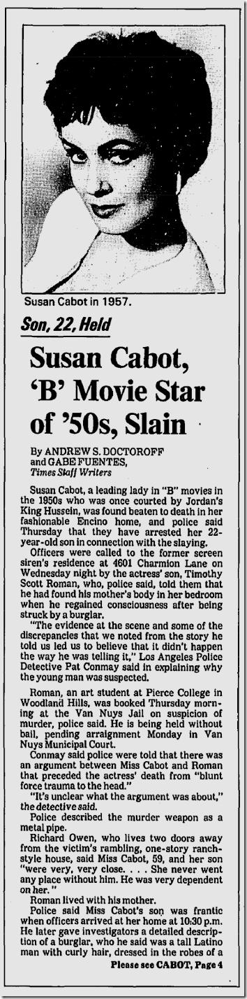 Dec. 12, 1986, Susan Cabot