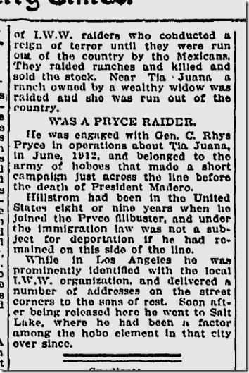 Nov. 20, 1915, Joe Hill