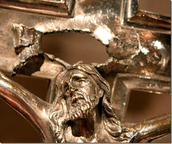 Aug. 14, 2011, Mystery Crucifix
