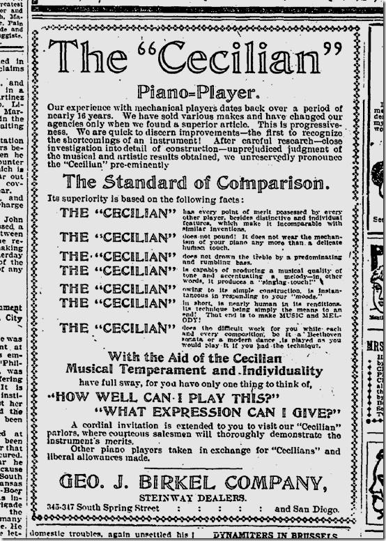 March 23, 1902, Geo. J. Birkel Co.