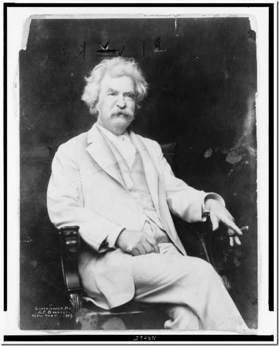 Mark Twain, Library of Congress