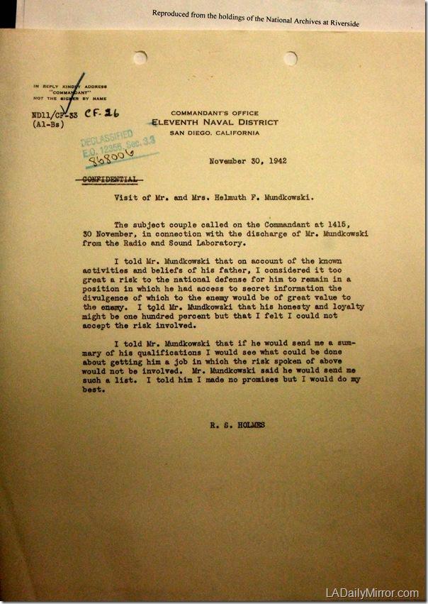 Nov. 30, 1942, Mundkowski