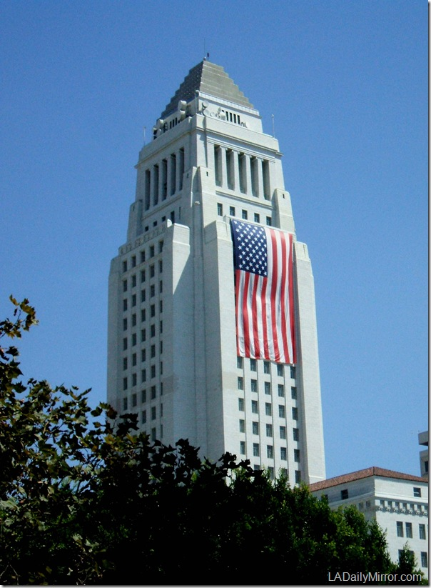 Los Angeles City Hall, Sept. 11, 2011
