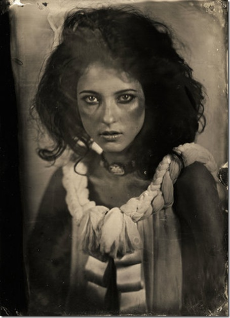 Heather tintype