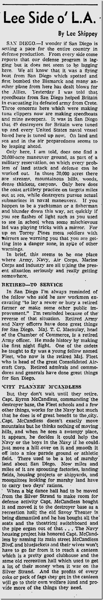 Sept. 4, 1941, Lee Shippey