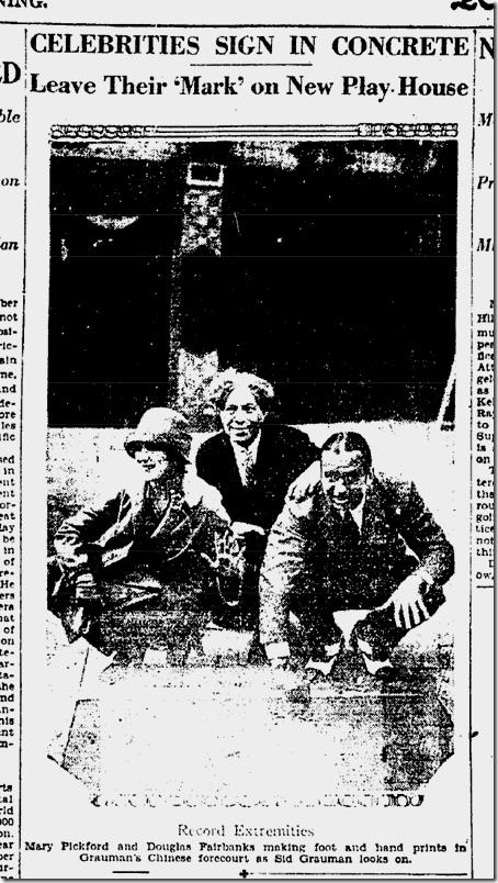 May 1, 1927, Doug and Mary