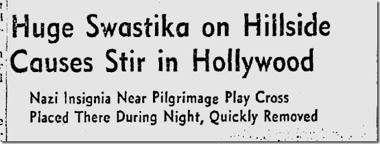 Sept. 7, 1941, Swastika