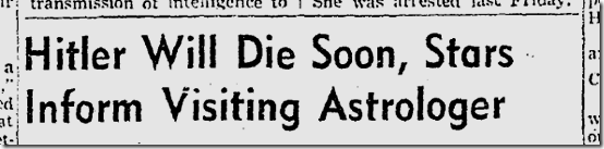 Sept. 9, 1941, Astrology