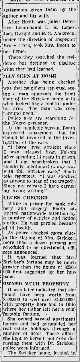 Sept. 15, 1941, Booth Case