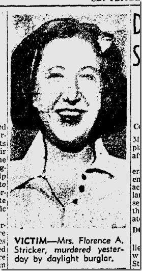 Sept. 14, 1941, Florence Stricker