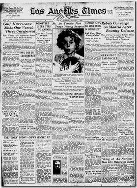 Aug. 1, 1936, Times