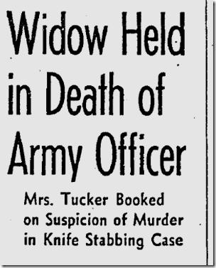 Sept. 3, 1941, Marie Tucker