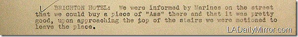July 17, 1942, Bar Report