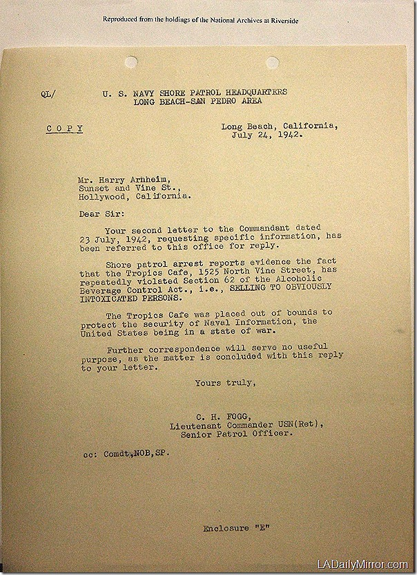July 24, 1942, The Tropics