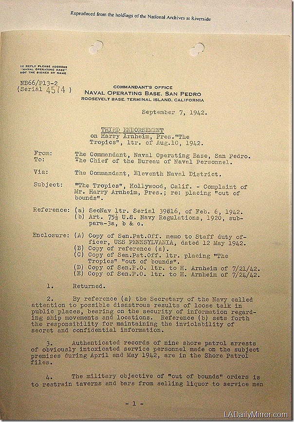 Sept. 7, 1942, The Tropics