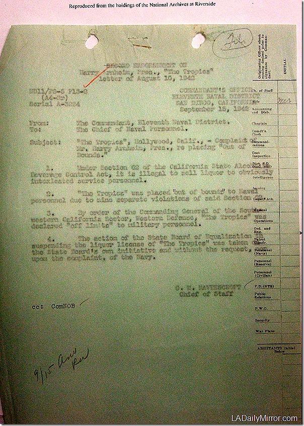 Sept. 15, 1942, The Tropics
